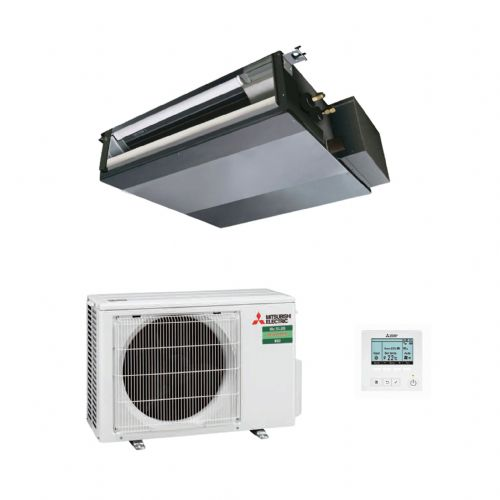 Mitsubishi Electric Air Conditioning SEZ-M71DA Concealed Ducted 7Kw/24000Btu R32 A 240V~50Hz